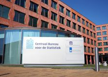 International Statistical Institute ISI, CBS in Dutch, in the Hague, the Netherlands. The Hague, the Netherlands. October 2018. International Statistical stock images