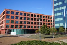 International Statistical Institute ISI, CBS in Dutch, in the Hague, the Netherlands. The Hague, the Netherlands. October 2018. International Statistical royalty free stock image