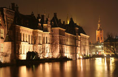 The Hague at Night Stock Photos