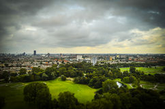 The Hague, NL in tilt-shift miniature Stock Photography