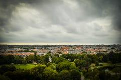 The Hague, NL in tilt-shift miniature stock photos