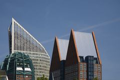 The Hague skyline 2 Stock Photos