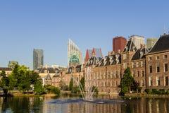 The Hague skyline Royalty Free Stock Image
