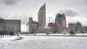 The Hague in Winter Stock Photos