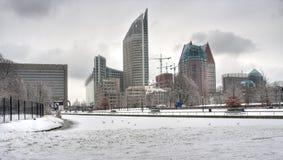 The Hague in Winter Stock Photos