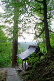 Haguro держателя, священное место стоковые фото