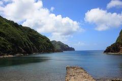 Hahajima海岛 免版税库存照片