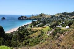 Hahei, Nueva Zelandia fotografía de archivo