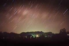 Hahei por noche Fotos de archivo libres de regalías