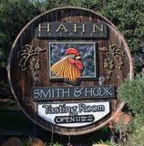 Hahn Estates och smed- & krokvingård royaltyfria foton