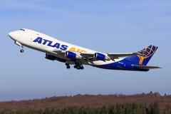 Stuttgart /Germany: BBoeing 747 from Atlas Stock Images