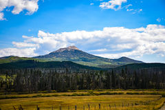 Hahn`s Peak In Northwest Colorado. Near Steamboat Springs Royalty Free Stock Photos