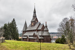 Hahnenklee Stave Church Royalty Free Stock Image