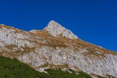 Hahntenjoch dichtbij Imst in Tirol Oostenrijk, Europa stock afbeelding