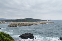 Hahyo port in Jeju island. Stock Photography