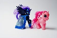 Hai, Украина - 10-ое августа 2017: красочный пони игрушки от famou Стоковое Изображение