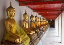 Hai Buddha Golden Statue Buddha Statue in Thailand Stock Photo