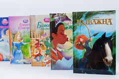 Hai, de Oekraïne - Februari 28, 2017: Geanimeerd Disney-filmsbeeldverhaal Stock Afbeeldingen