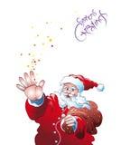 Hai de Santa illustration de vecteur