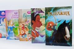 Hai, Ucrânia - 28 de fevereiro de 2017: Desenhos animados animados dos filmes de Disney Imagens de Stock