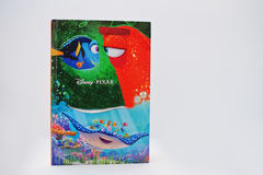 Hai, Ucraina - 28 febbraio 2017: Film animati c di Disney Pixar Fotografia Stock Libera da Diritti