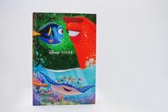 Hai, Ucrania - 28 de febrero de 2017: Películas animadas c de Disney Pixar Fotografía de archivo libre de regalías