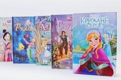 Hai, Ukraine - 28 février 2017 : Bande dessinée animée de films de Disney Photos libres de droits