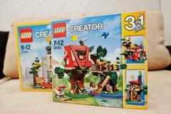Hai, Ukraine - 08 January, 2017: close-up photo of LEGO Creator stock photos