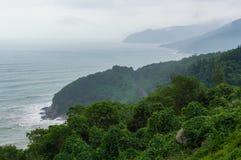 Hai Van-pas, Da Nangstad, Vietnam royalty-vrije stock afbeelding