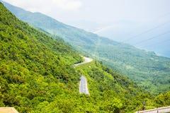 Hai Van-pas, de Tint van Thua Thien, Vietnam royalty-vrije stock afbeeldingen