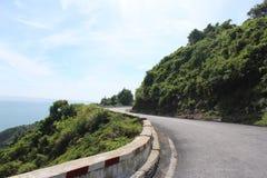 Hai Van Pass Vietnam Arkivbilder