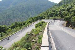 Hai Van Pass Vietnam Arkivfoton