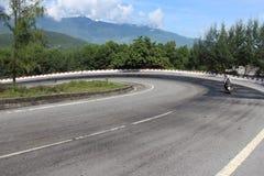 Hai Van Pass Vietnam Arkivfoto