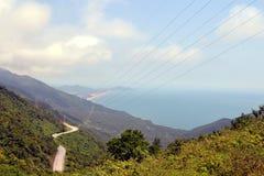 Hai Van Pass Vietnam Stock Image