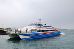 Hai Wei Passenger ship Stock Photos