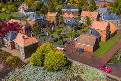 Haia, Países Baixos - 26 de abril de 2017: Vila em Madurodam MI Fotografia de Stock