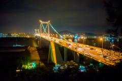 The Haicang Bridge of Xiamen City Royalty Free Stock Photos