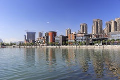 Haicang lakeside scenery Stock Image