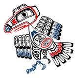 Haida raven Stock Photo