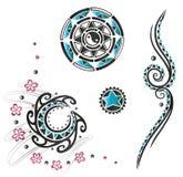 Haida tattoo, tribal Royalty Free Stock Image