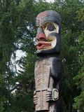 Haida Totem Pole At Legislative Grounds Edmonton Alberta Stock Image