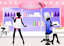 Haidresser Stock Photo