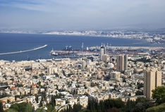 Haifa Foto de Stock Royalty Free