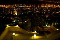 Haifa, Baha'i Foto de Stock