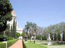 Haifa Bahai Gardens Alleya 2003 Immagini Stock Libere da Diritti