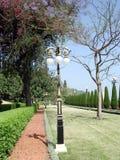 Haifa Bahai Gardens il alleya 2003 Fotografie Stock Libere da Diritti