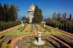 Haifa, Bahai-kathedraal stock fotografie