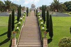 Haifa Bahai-tuin Royalty-vrije Stock Foto