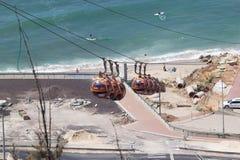Haifa cable way Royalty Free Stock Photography