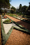 Haifa - canto no jardim Fotografia de Stock Royalty Free